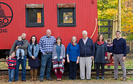 On Location: Extended Family Session in Ohio