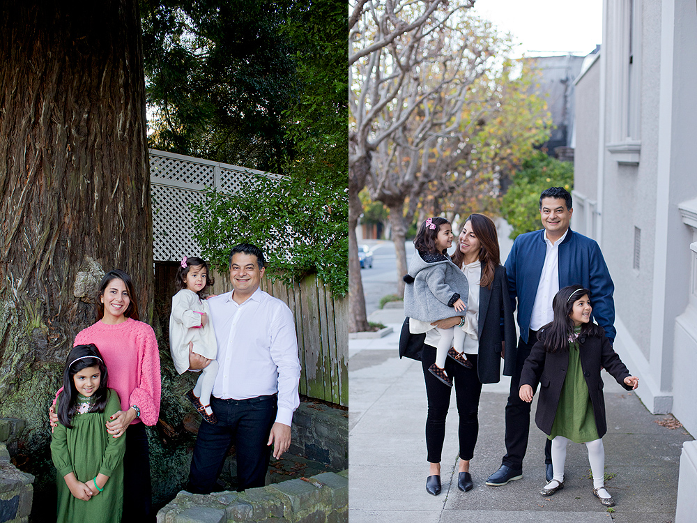 family holiday photos pacific heights san francisco